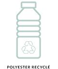 logo polyester recyclé
