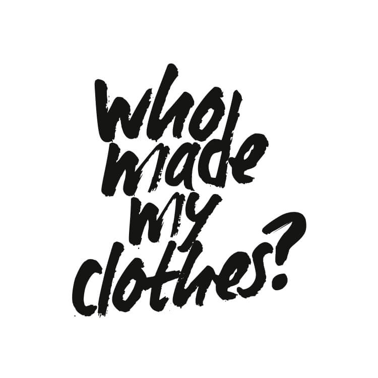logo who made my clothes?